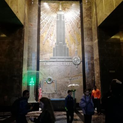 Lobby des Empire State Buildings