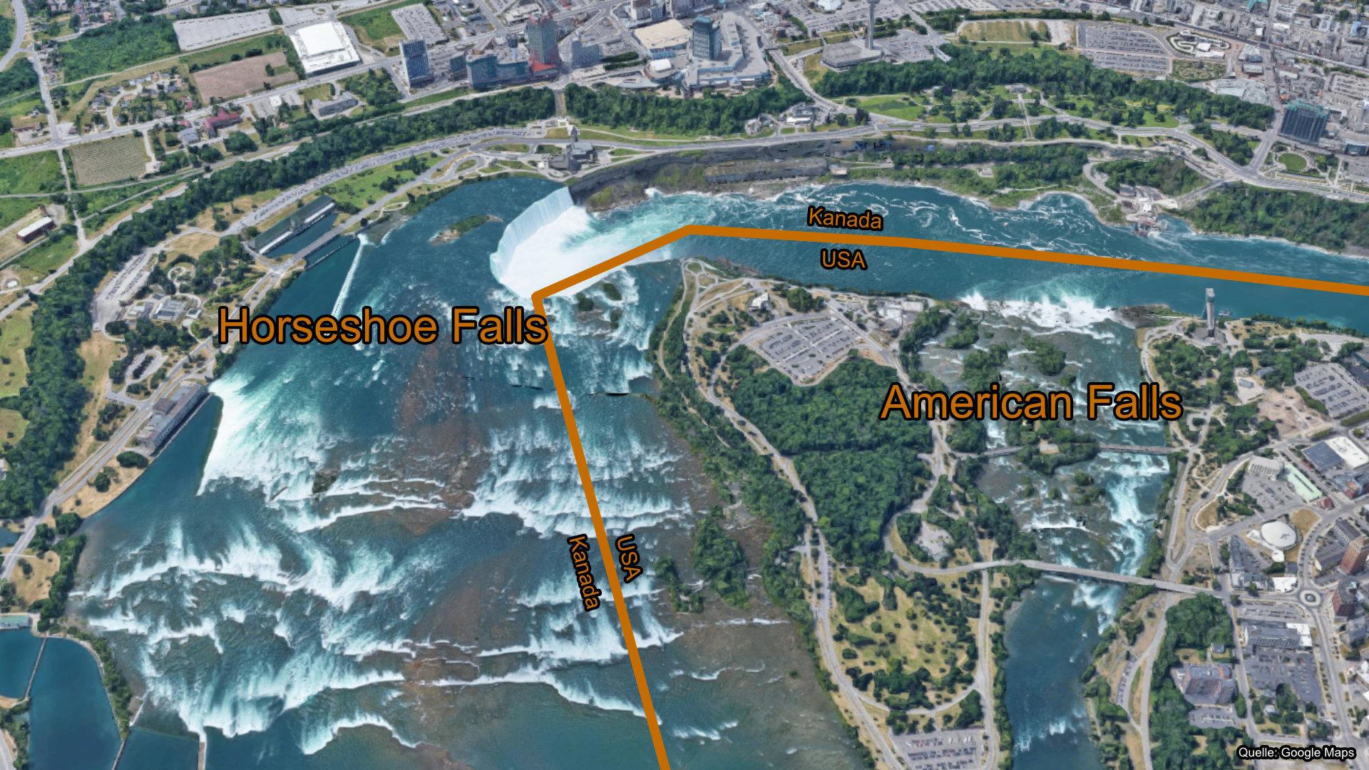 Goat Island Niagarafälle