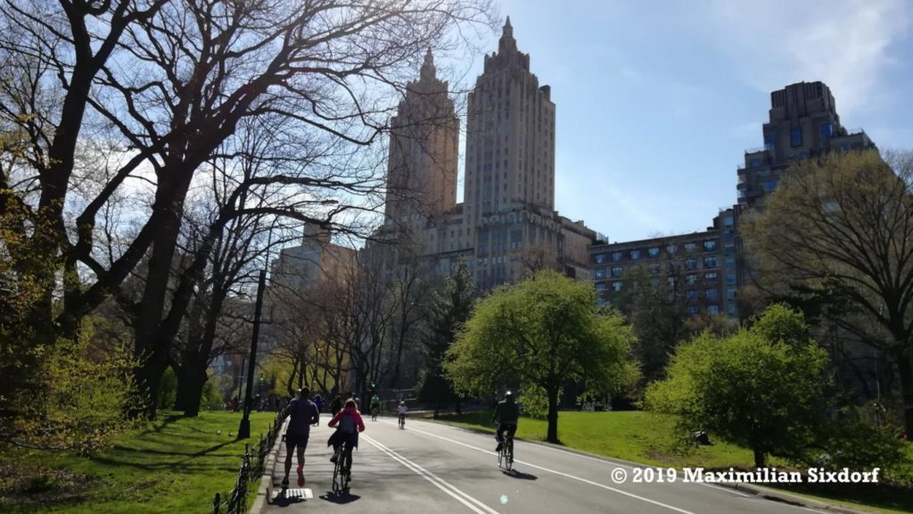 Eine Fahrradtour durch den Central Park lohnt sicht