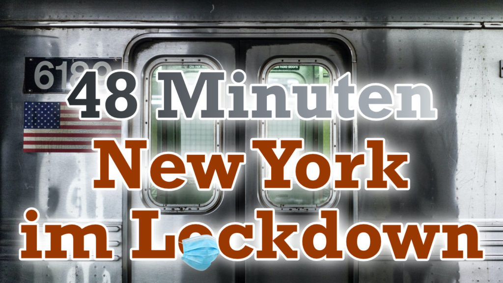 New Yorks Lockdown in 48 Minuten
